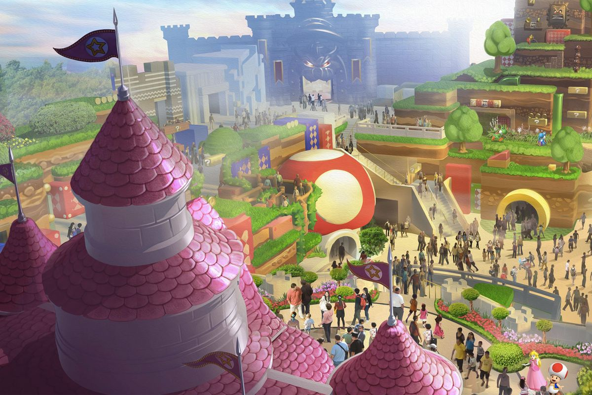 Nintendos first universal studios park attraction is called super nintendo of america visitors to universal studios japan publicscrutiny Choice Image