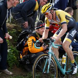 Vanmarcke not on a great day