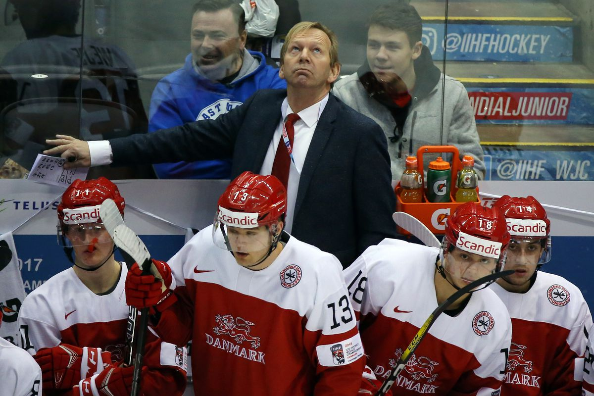 2017 IIHF World Junior Championship quarterfinal: Denmark 0 - 4 Russia