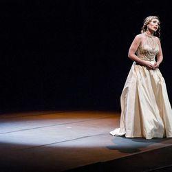 Marina Costa-Jackson performing during the Placido Domingo's Operalia.