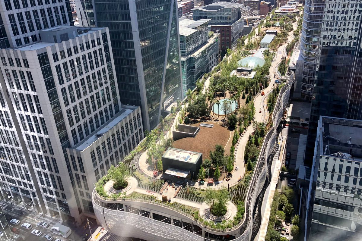 Salesforce Park And Transbay Transit Center Opening Date