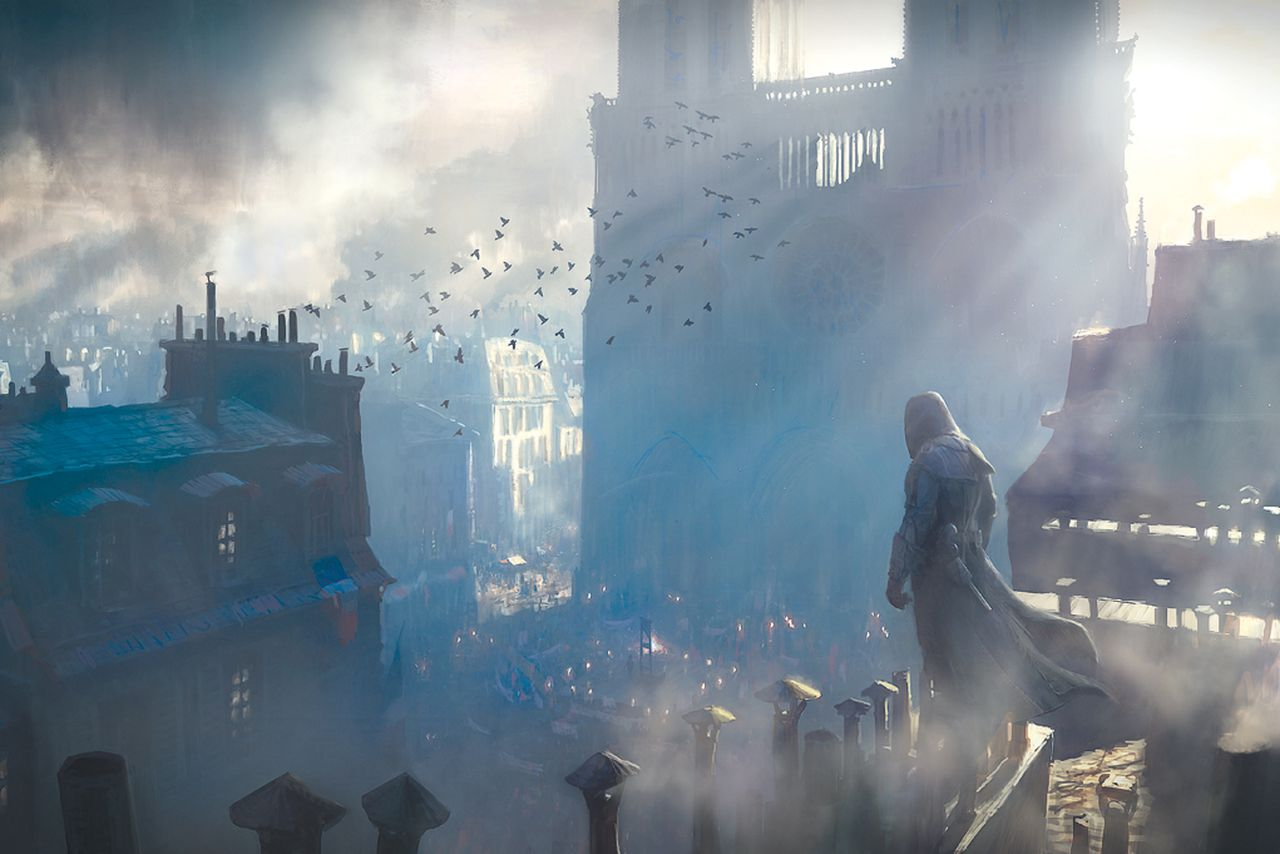 The Beautiful Art Behind The Paris Of Assassin S Creed Unity