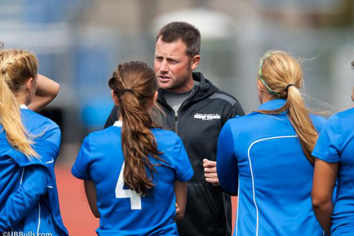 Shawn Burke will be the new Head Women's Soccer Coach at UB