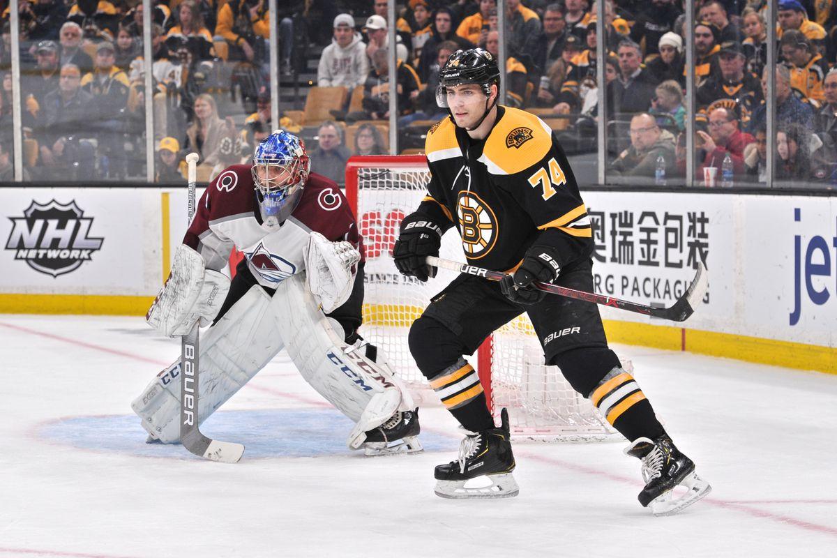 NHL: FEB 10 Avalanche at Bruins