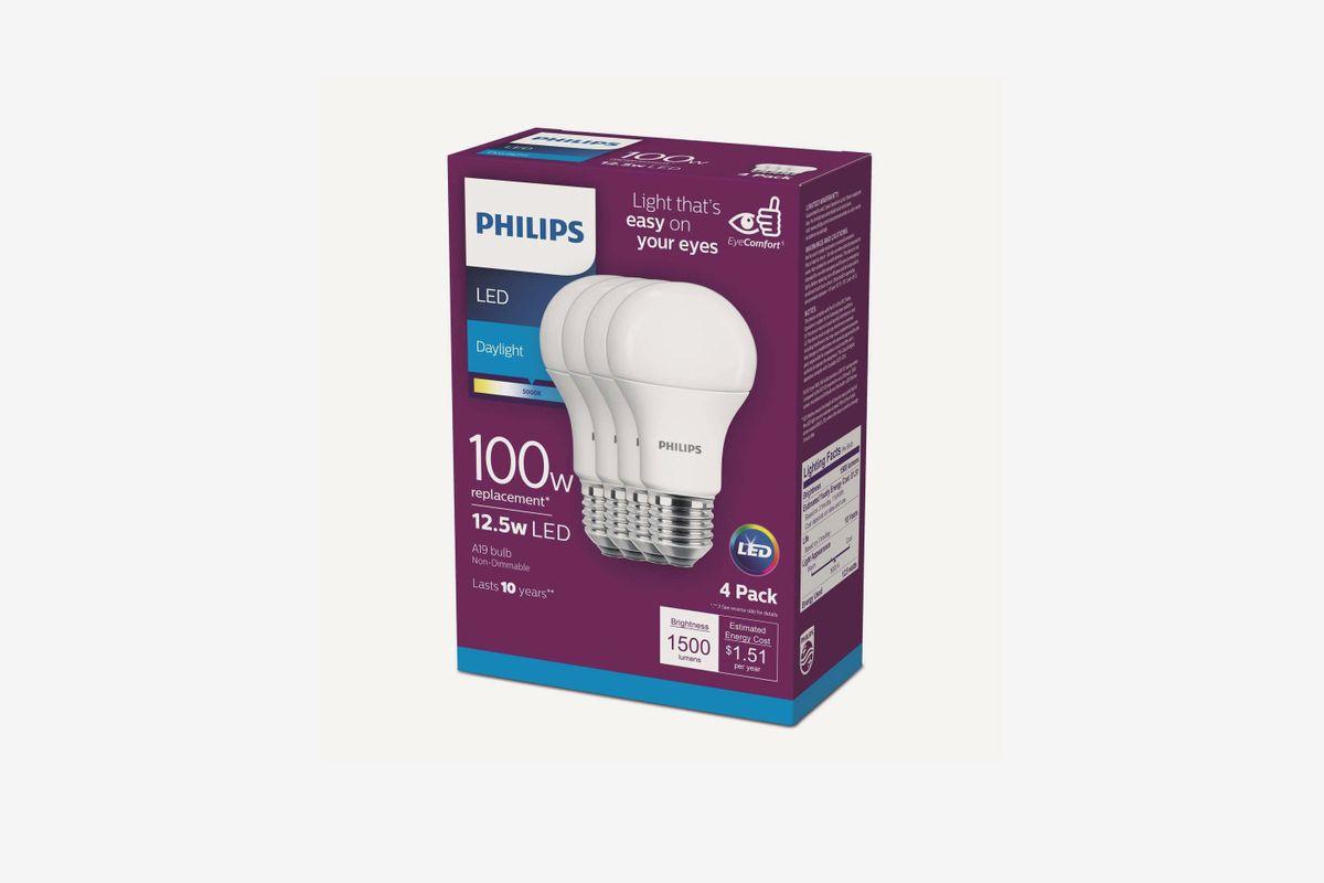 Package of light bulbs .