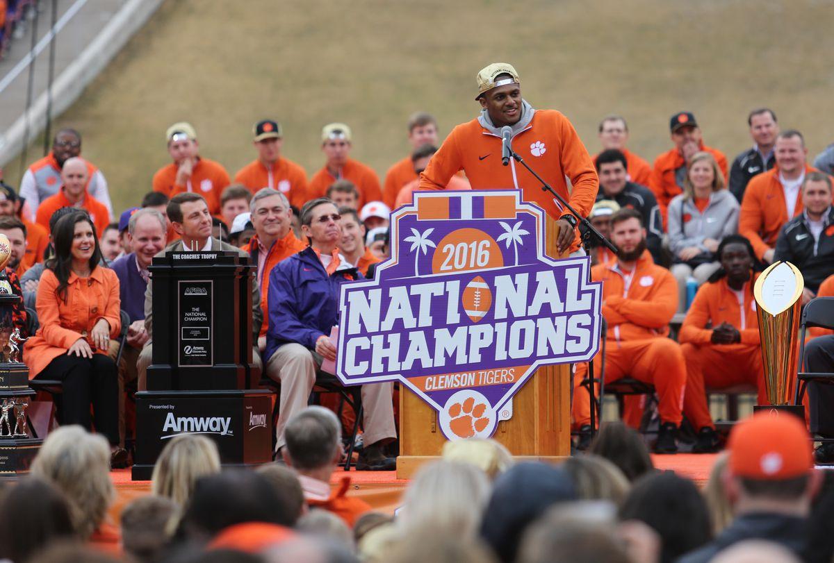 NCAA Football: CFP National Champions-Clemson Celebration