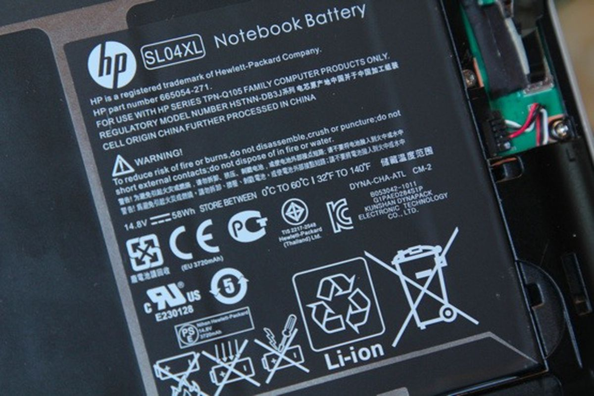 spectre battery 555