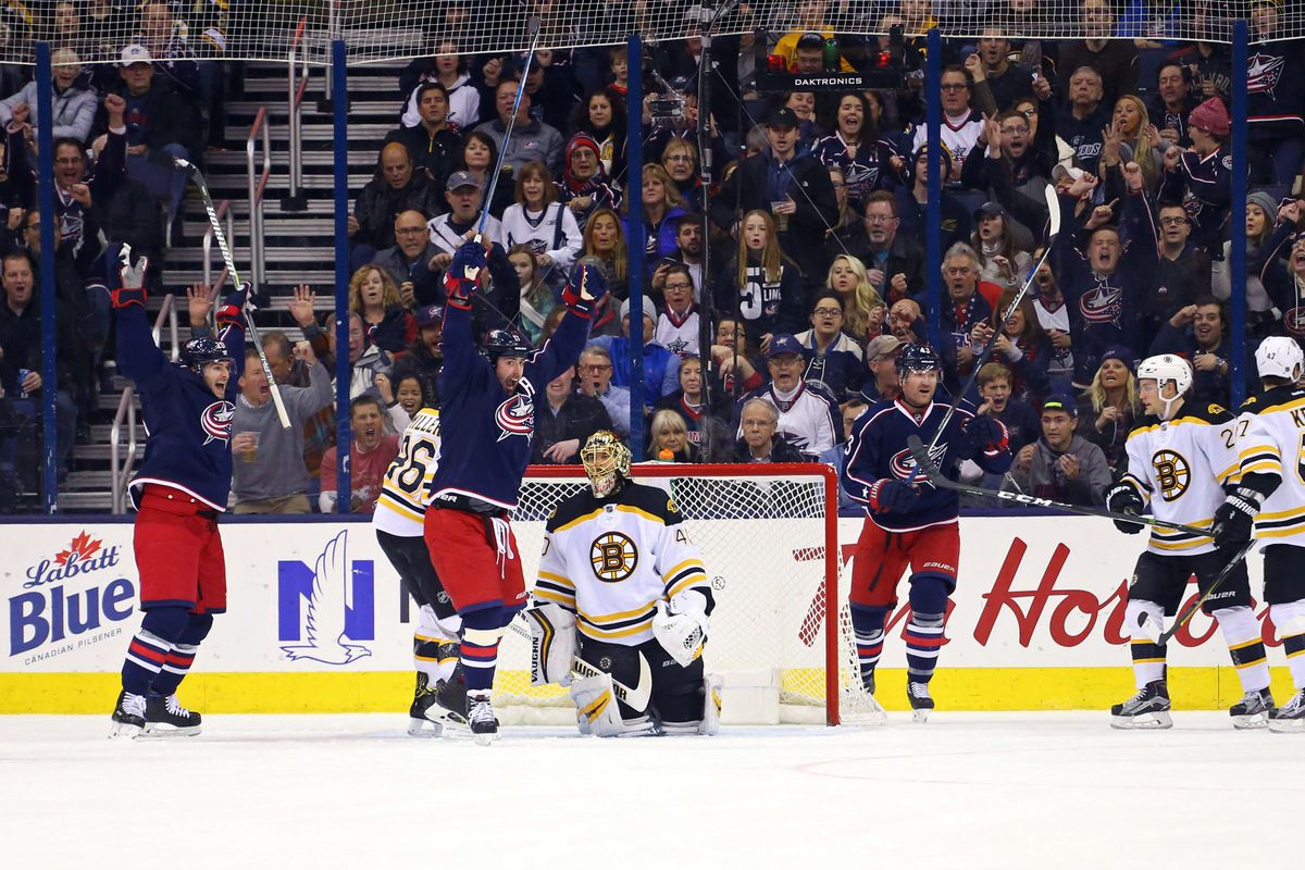 NHL: Boston Bruins at Columbus Blue Jackets