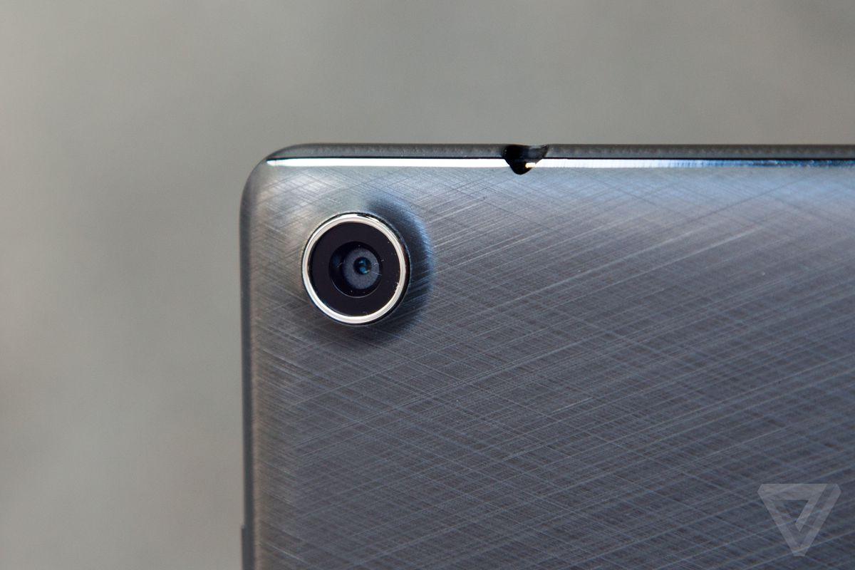 Asus ZenPad camera