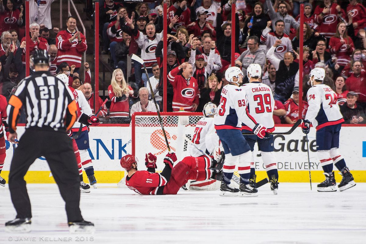 966abdadc04 Carolina Hurricanes vs. Washington Capitals  Game 2 Preview ...