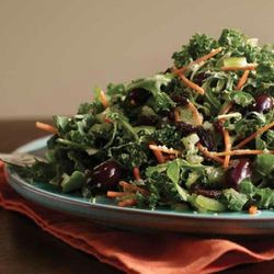 Salads include: the Big Clean Salad, the Big Greek Salad, the Big Kale Salad, a Kale Quinoa Salad, a Lentil Salad, a Roasted Squash and Beet Salad, and the Sunflower Falafel ($10 to $12)