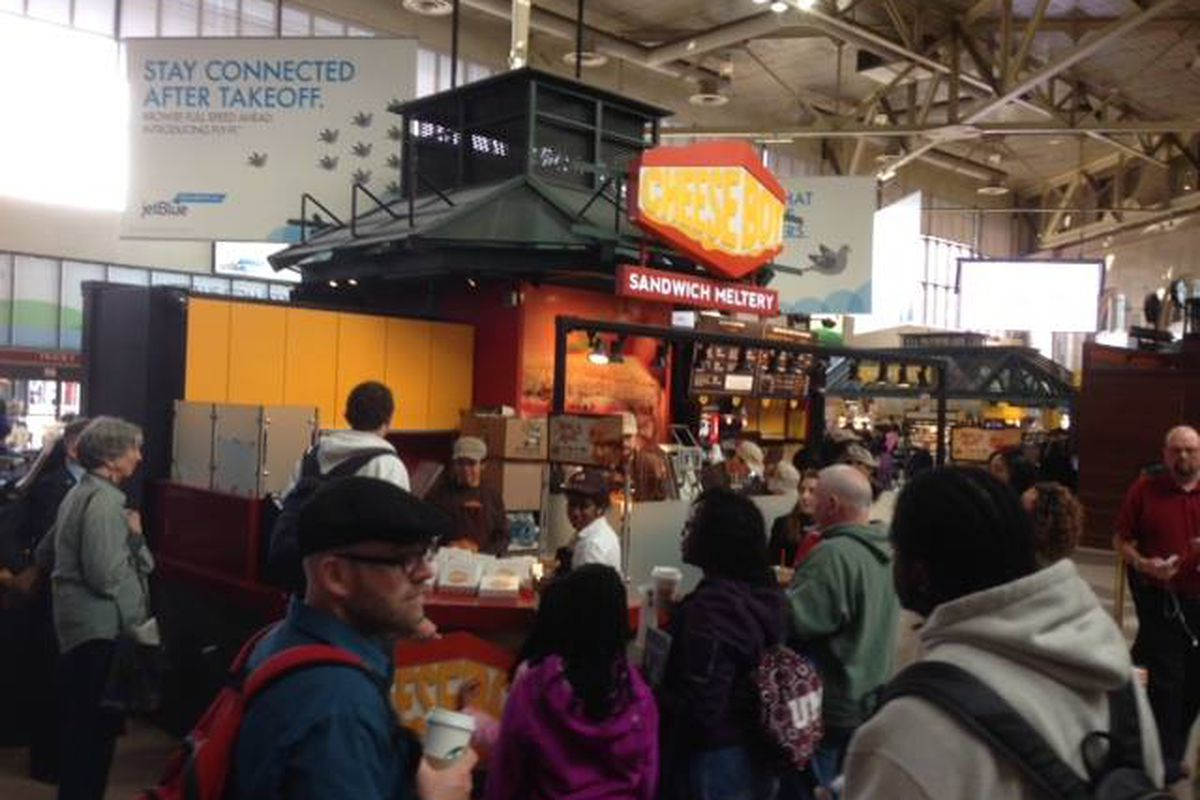 Cheeseboy in South Station