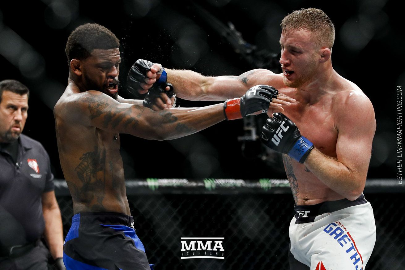 TUF 25 Finale medical suspensions: Justin Gaethje potentially out until 2018