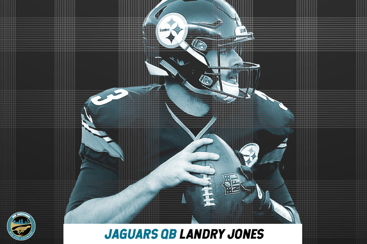 191914bac10 Earlier today, the Jacksonville Jaguars announced that they signed former Steelers  quarterback Landry Jones to the active roster.