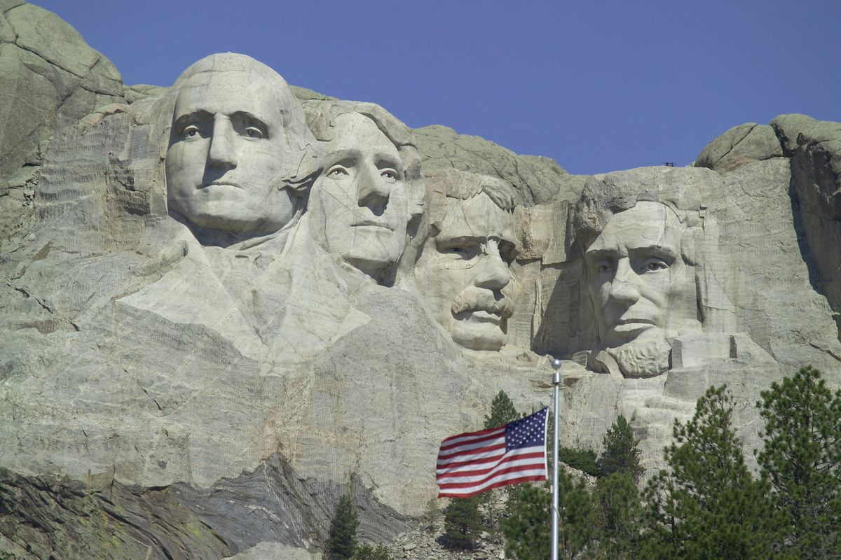 Faces of American Presidents, South Dakota