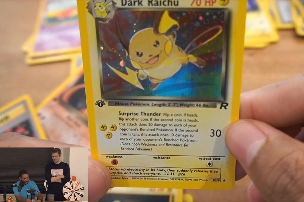 Dark Raichu card