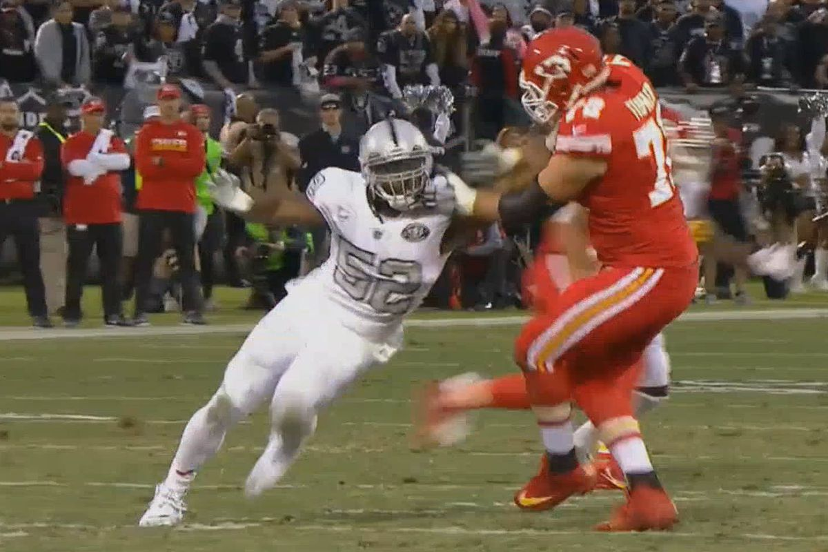 How Raiders are scheming one on ones for Khalil Mack Silver And