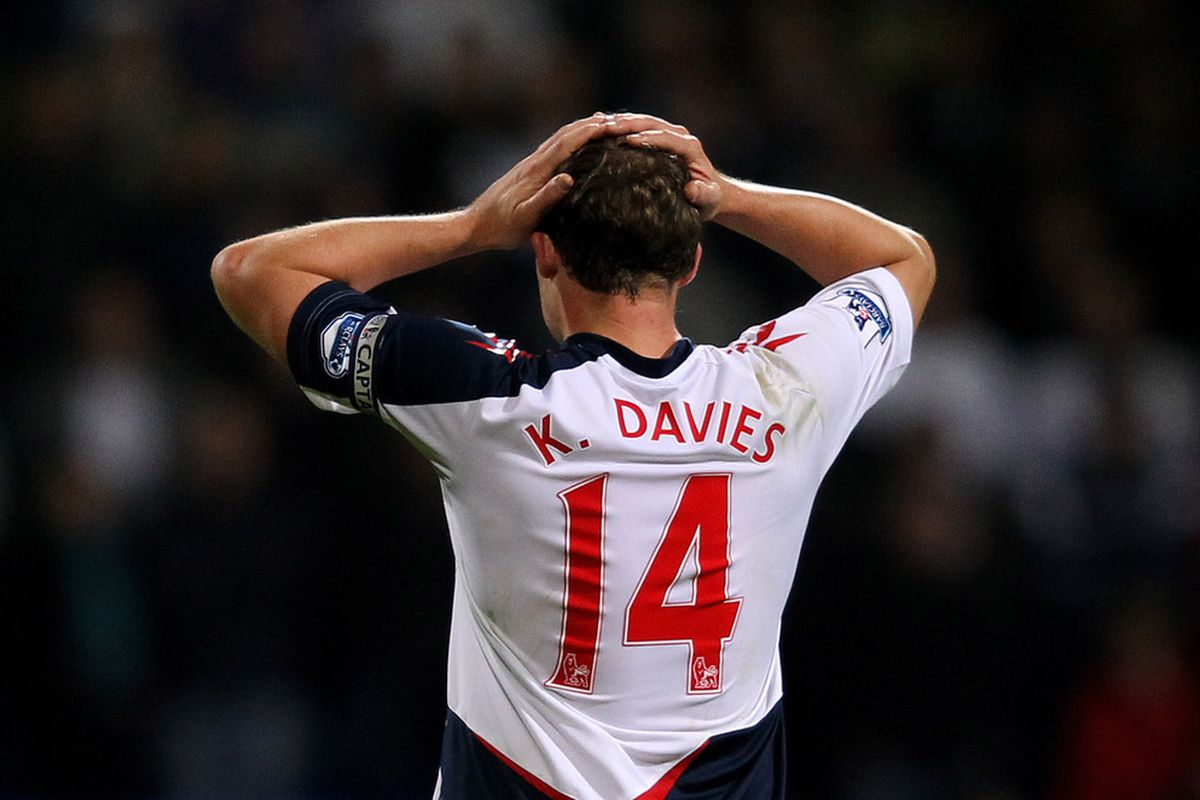 Kevin Davies won't be trading his Bolton kit for a TFC one just yet.