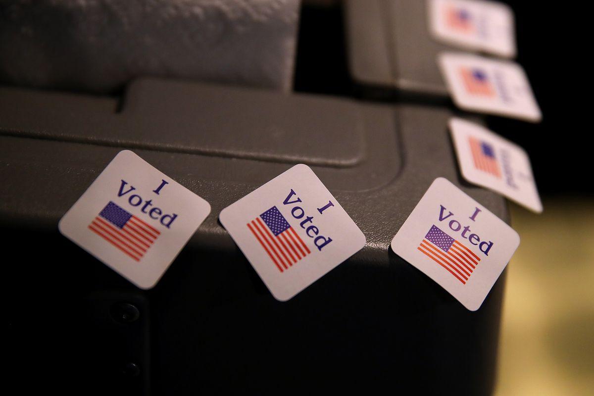 Democratic Senate Candidate Doug Jones Votes In Alabama Special Election
