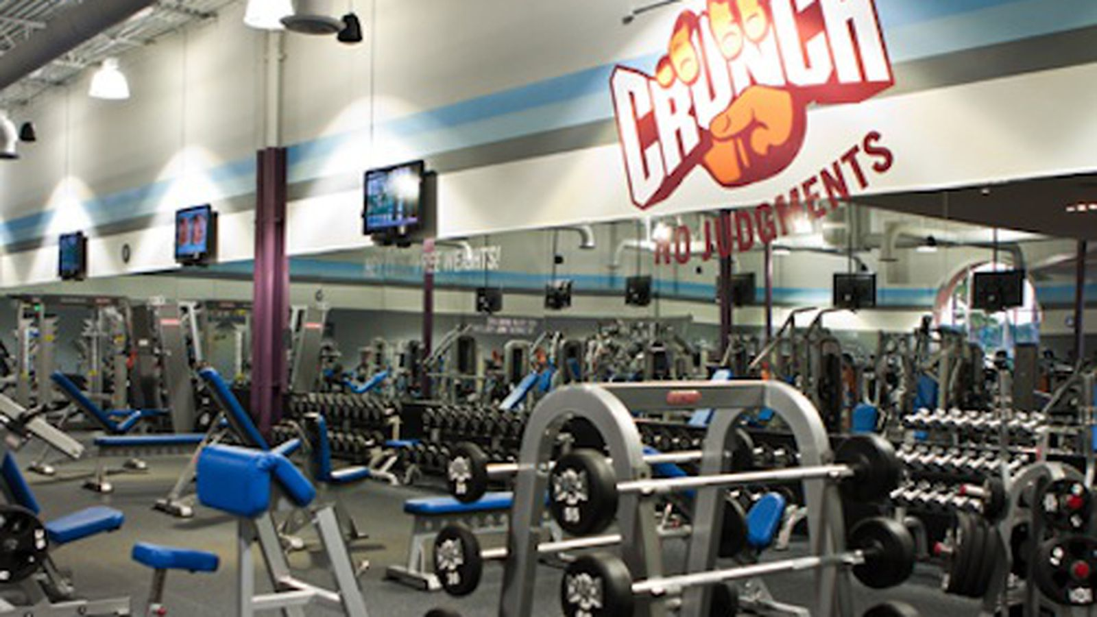 Crunch is a gym that believes in making serious exercise fun by fusing fitness and entertainment and pioneering a philosophy of No Judgments.
