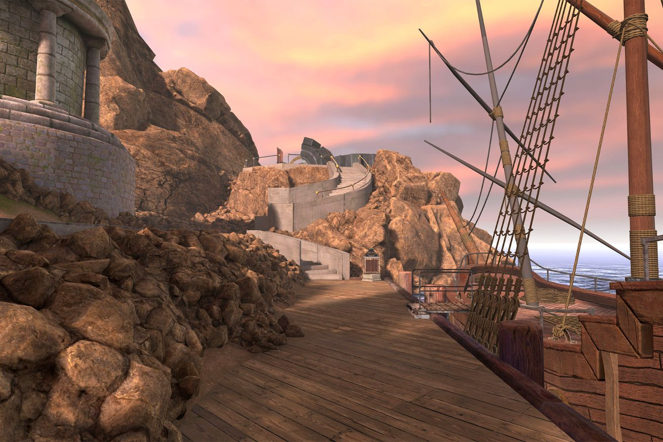 Myst VR screenshot