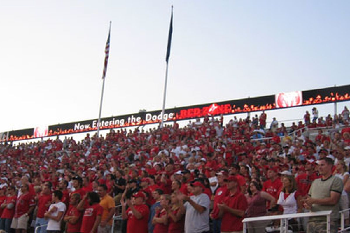 The rivalry within Rice-Eccles Stadium between The MUSS and the North End Zone (NEZ) may get more heated with Utah marketing behind The North.