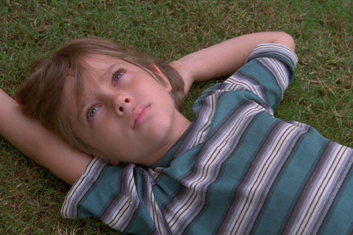 Mason (Ellar Coltrane) near the beginning of Boyhood.