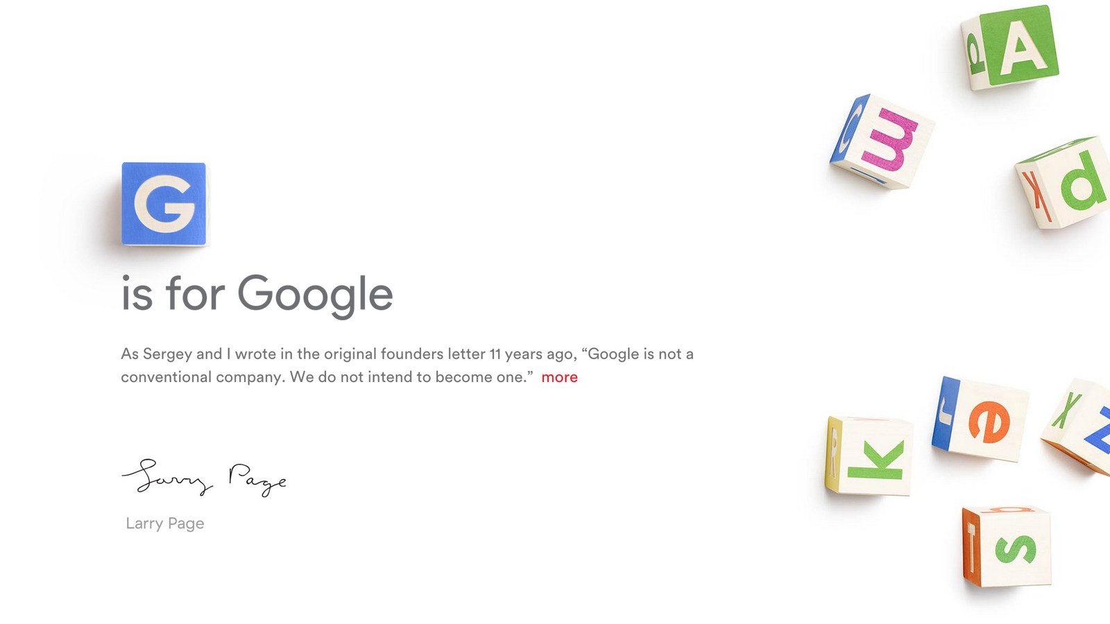 The A To Z Of Alphabet The Company That Now Owns Google The Verge