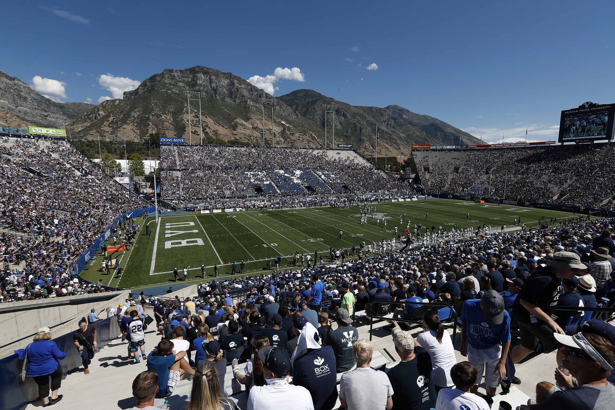 NCAA Football: Portland State at Brigham Young