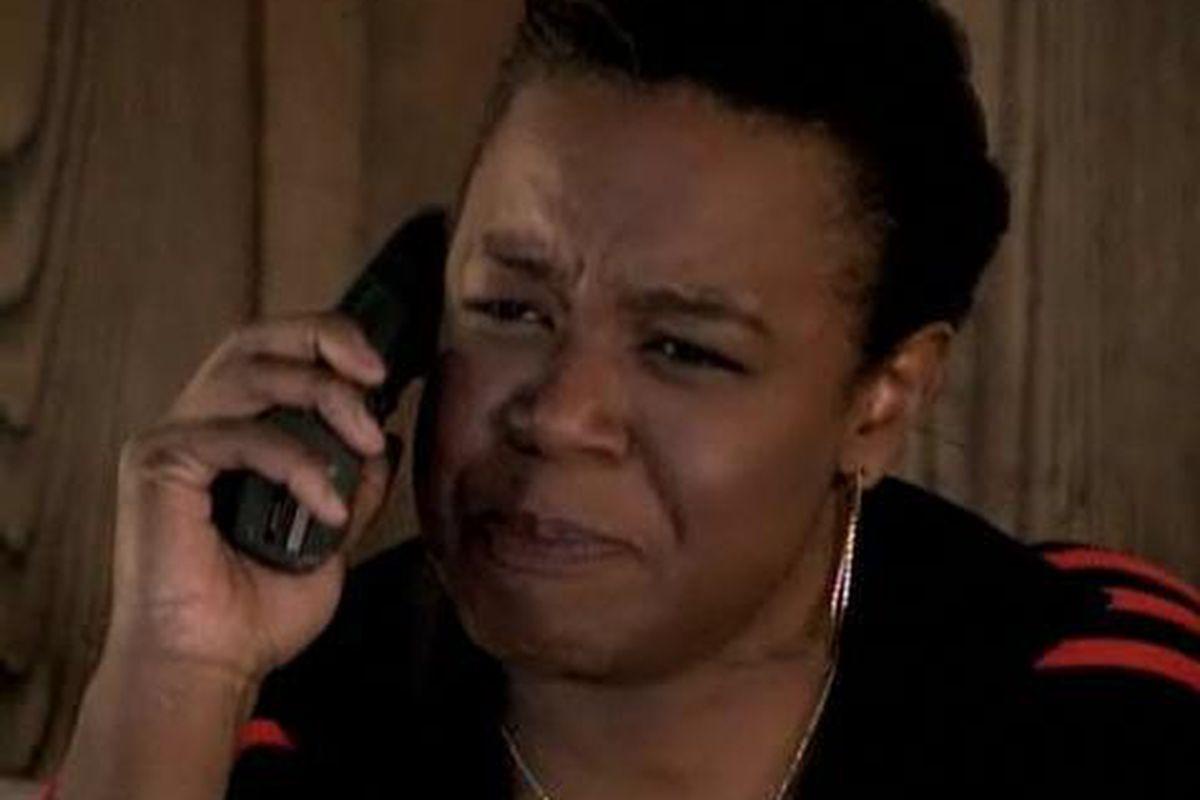 """ I don't like people playin' on my phone !!!! """