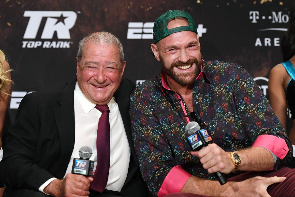 Tyson Fury v Otto Wallin - News Conference