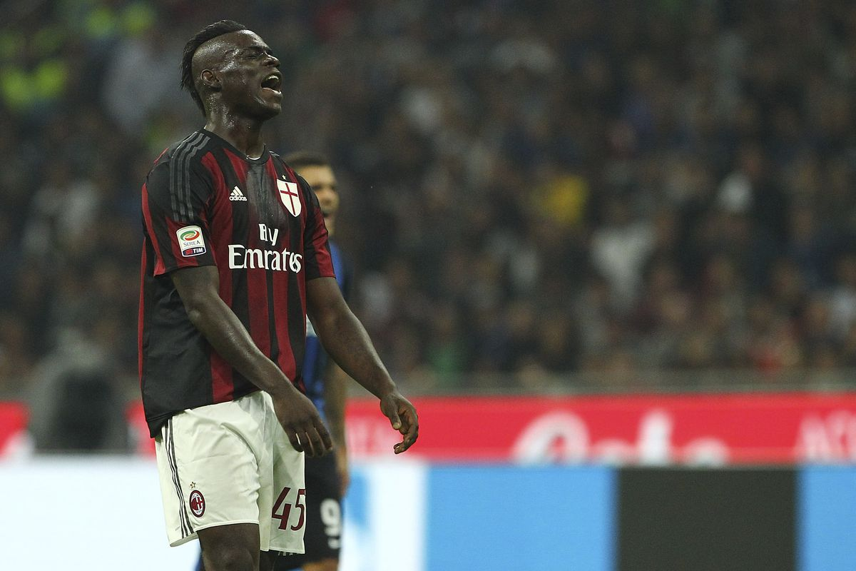 Mario Balotelli was disappointed not to score, but he was menacing after entering the match in the 62nd minute.