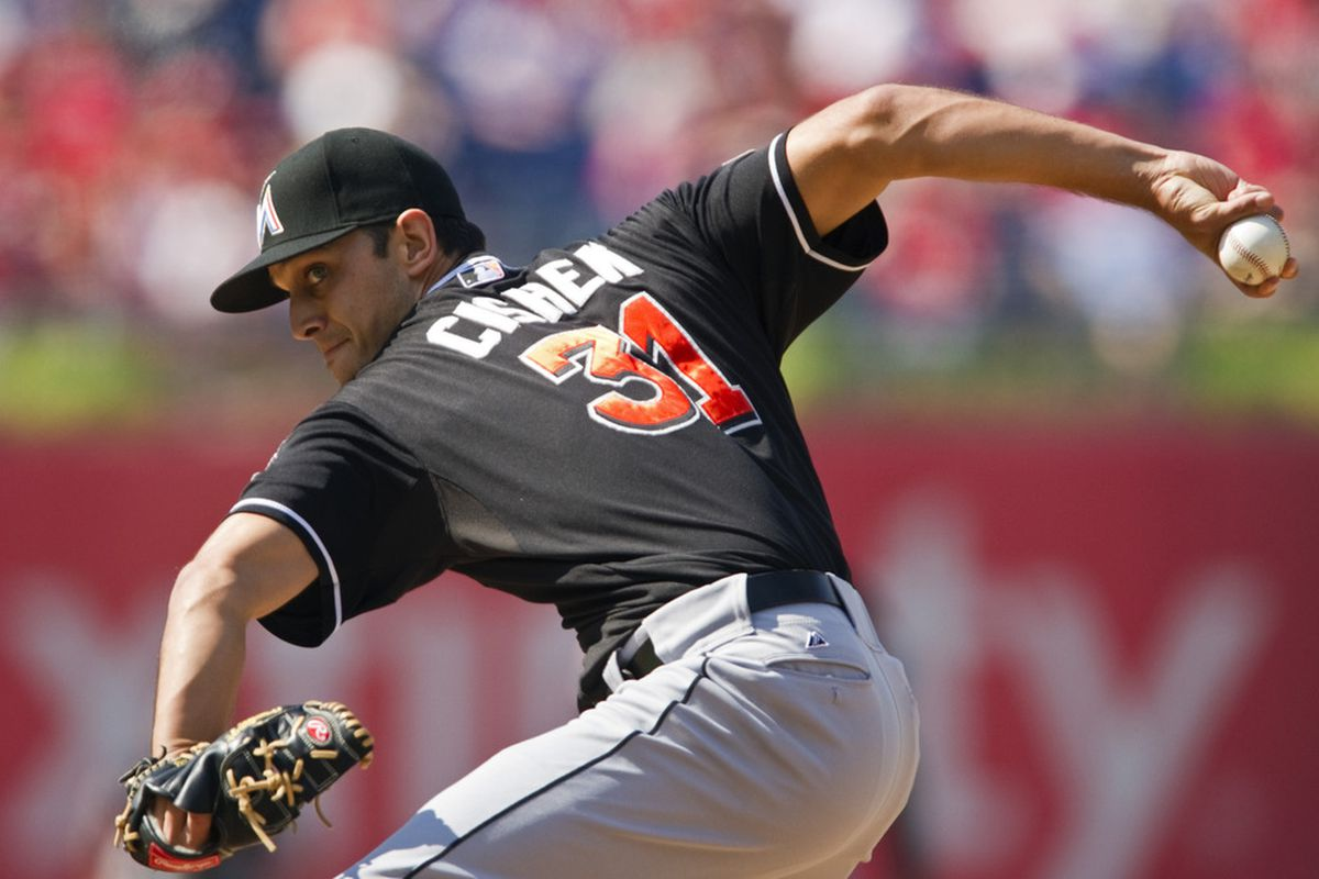 Steve Cishek may be the first in line for new closing opportunities as part of the Miami Marlins' closer-by-committee. Is he a deserving candidate? Mandatory Credit: Howard Smith-US PRESSWIRE