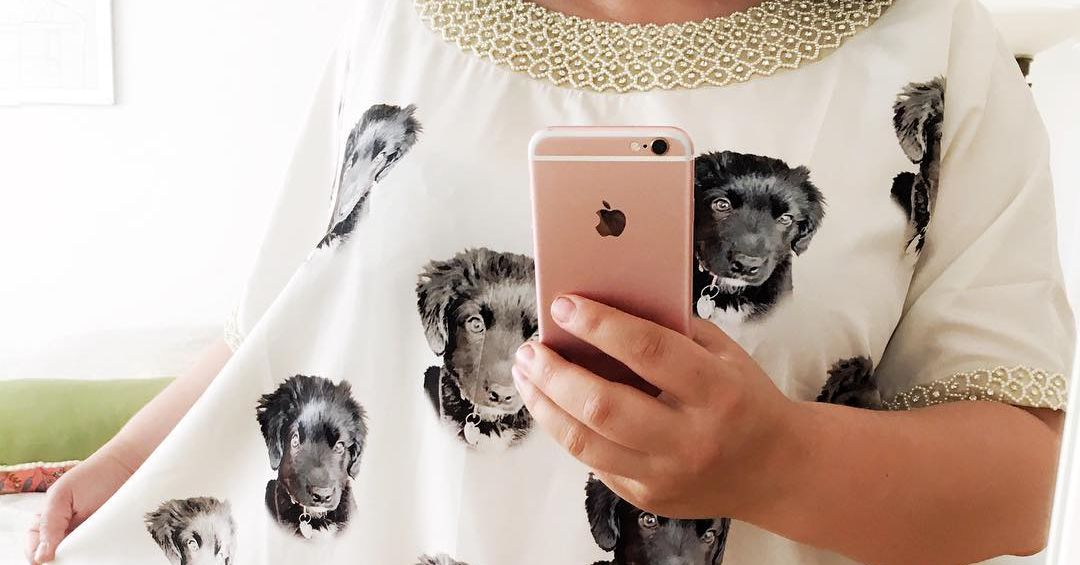I Bought a Caftan With My Dog's Face on It - Racked