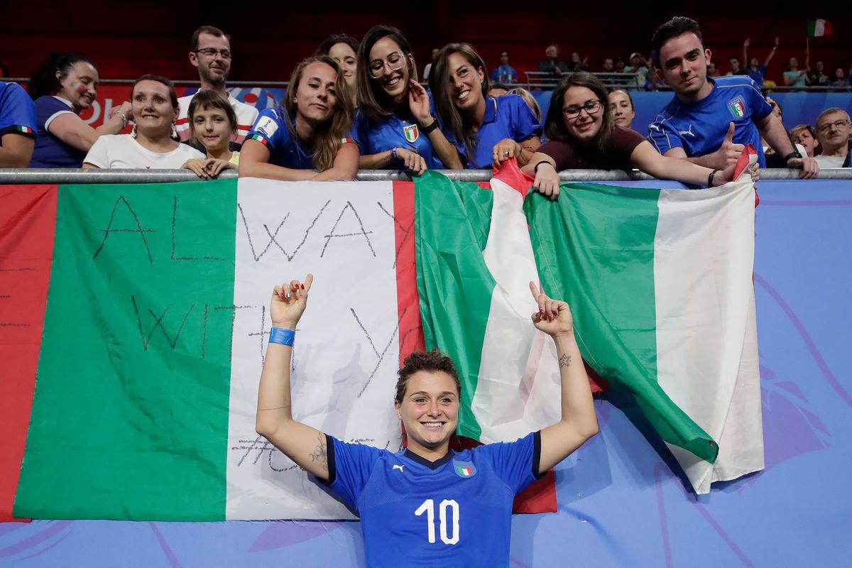 Italy v Brazil -World Cup Women