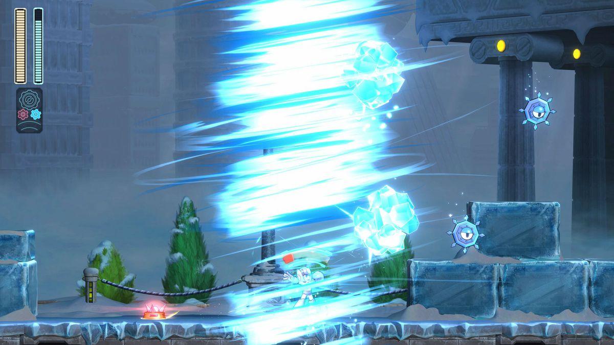 Mega Man 11 Tundra Storm (Tundra Man)