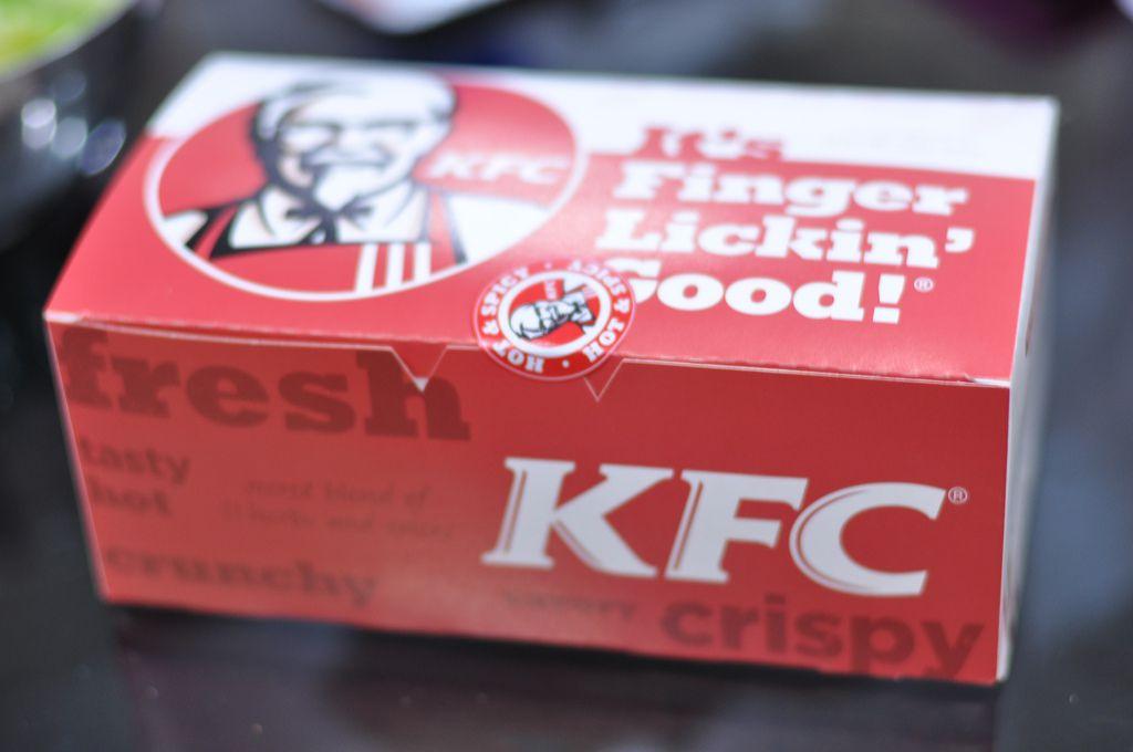 KFC Box Flickr