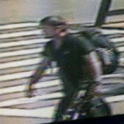 This image taken from surveillance video and provided by the New York City Police Department on Wednesday, Sept. 12, 2012, shows a man believed to have mugged and sexually assaulted a 73 year old woman in New York's Central Park. The woman was attacked about 11 a.m. while bird watching near the park's tranquil Strawberry Fields that serves as a memorial to John Lennon.
