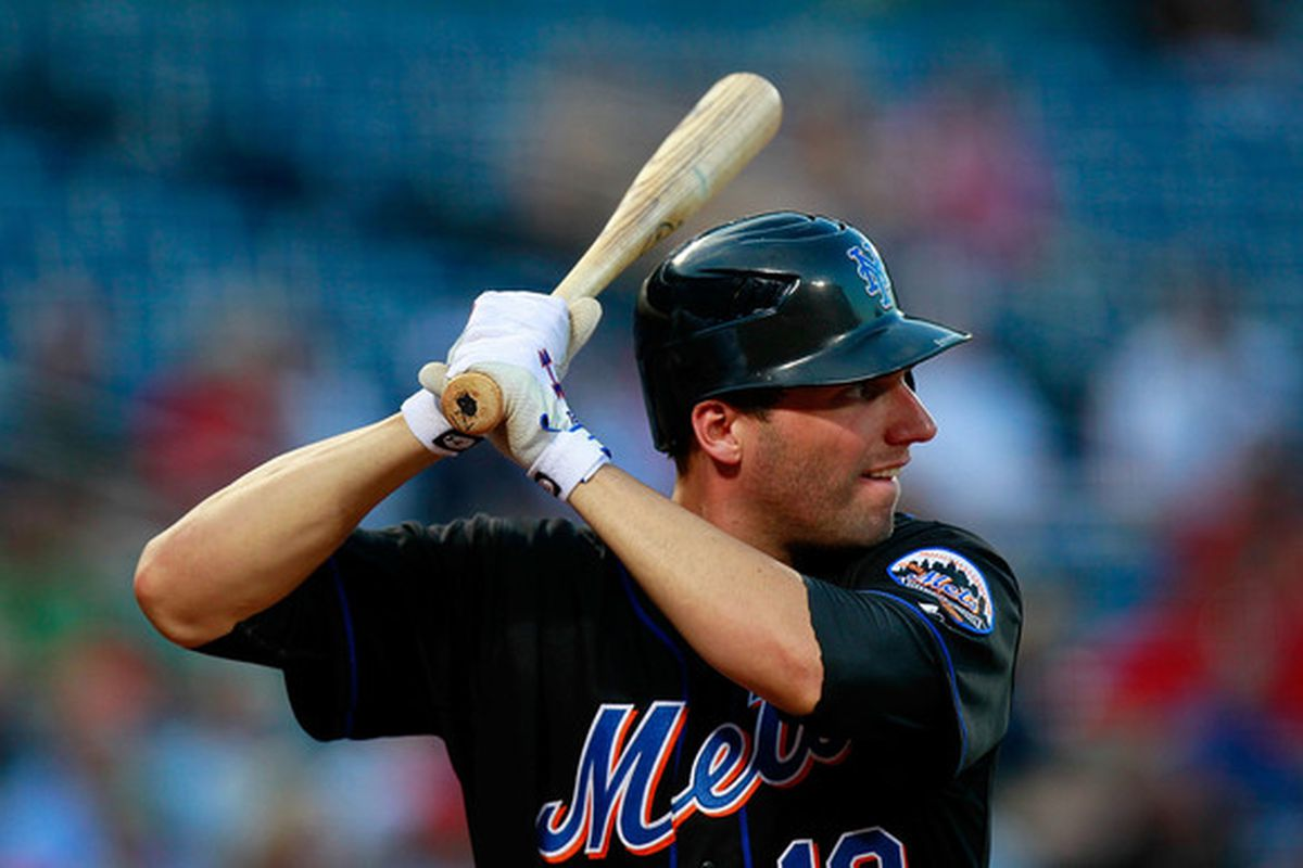 ATLANTA - AUGUST 31:  Jeff Francoeur #12 of the New York Mets bats in the third inning against the Atlanta Braves in the fifth inning at Turner Field on August 31 2010 in Atlanta Georgia.  (Photo by Kevin C. Cox/Getty Images)