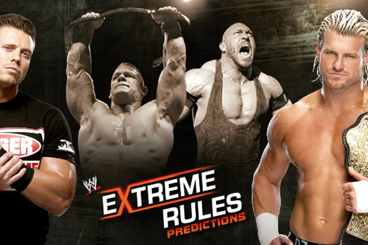 Wwe Extreme Rules Predictions Amp Preview John Cena Vs