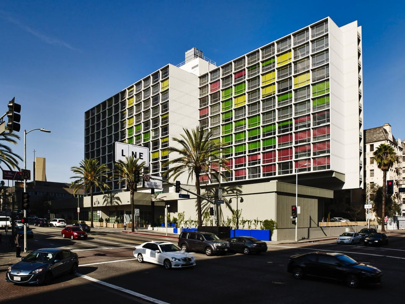 The Line Hotel in Koreatown