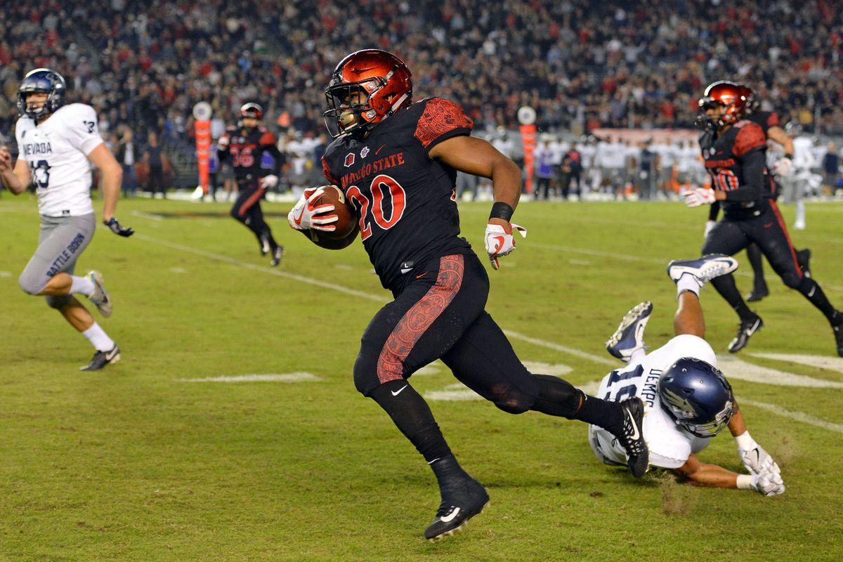 NCAA Football: Nevada at San Diego State