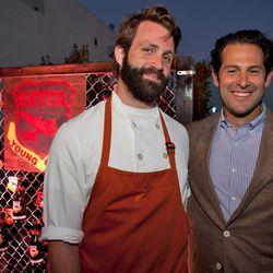 Chef Adam Leonti (Vetri), Ben Leventhal.