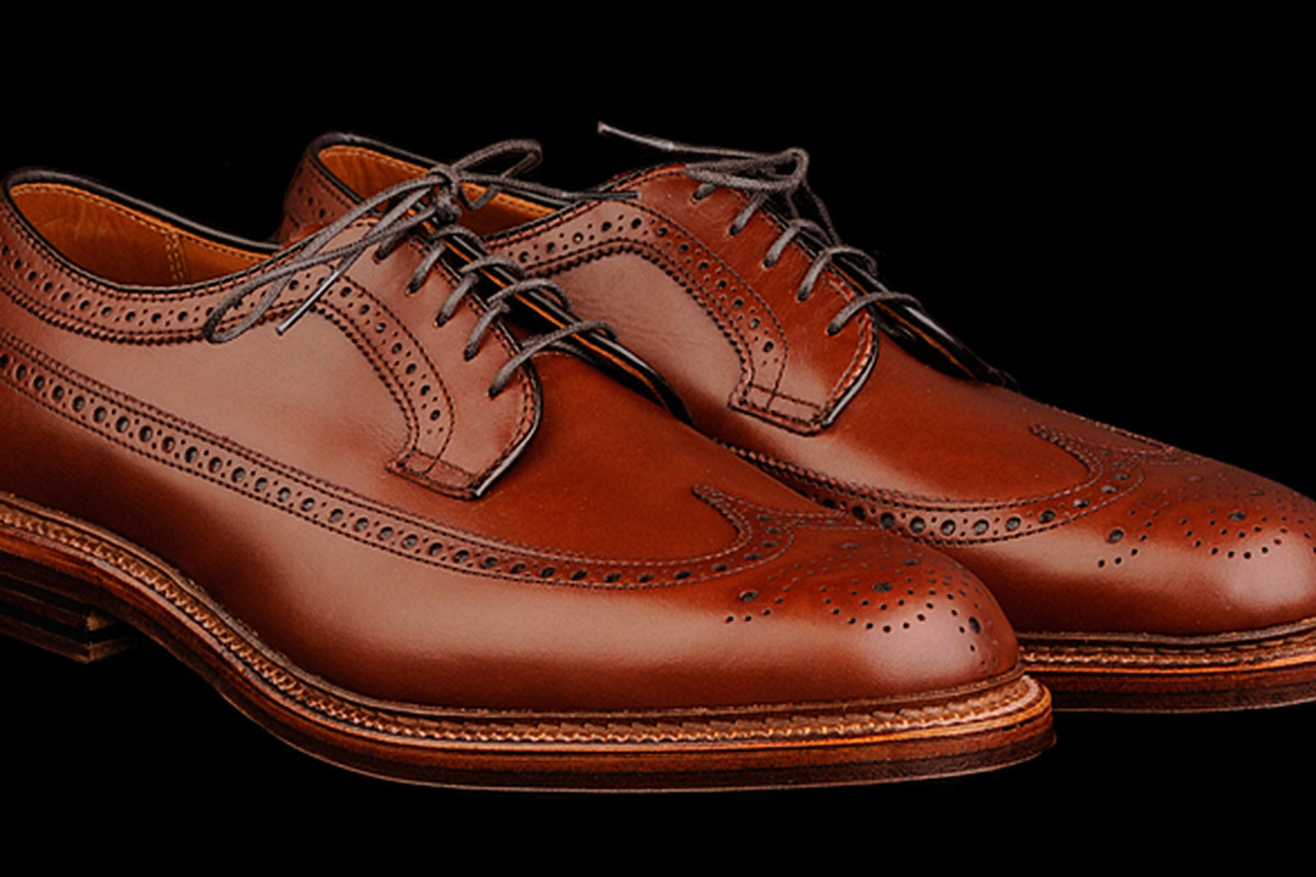 """The Stockton Longwing by Alden for Unionmade, <a href=""""http://unionmadegoods.com/Alden_Stockton_Longwing_in_Walnut_Calf_97786_8450.html"""">$515</a>"""