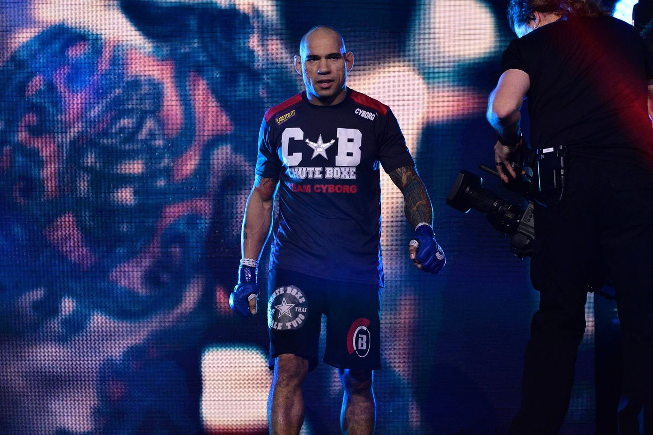 Evangelista 'Cyborg' Santos lost to Bellator star Michael Page in his final bout.