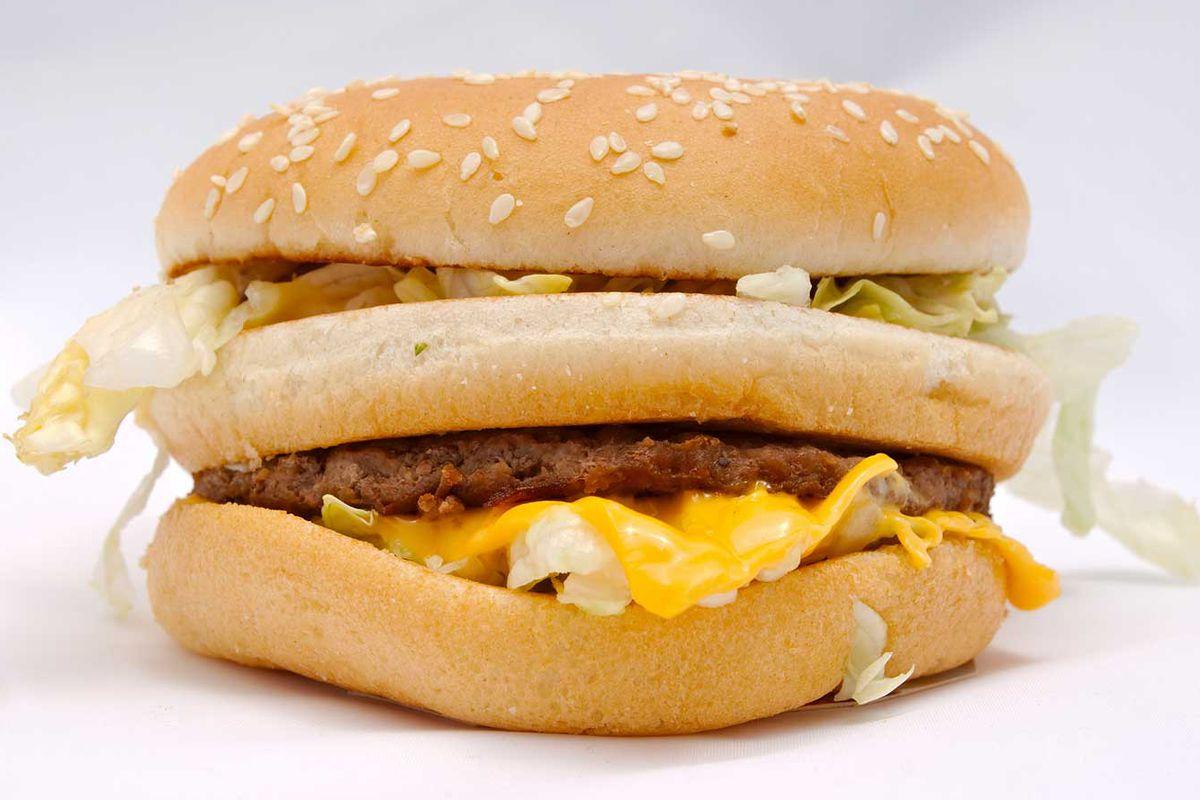 Big Mac, pre-deep fryer.