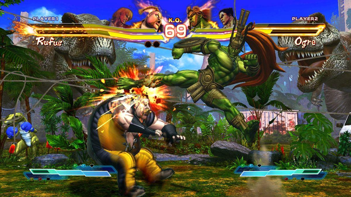 Street Fighter X Tekken - Rufus / Ogre screenshot 1280
