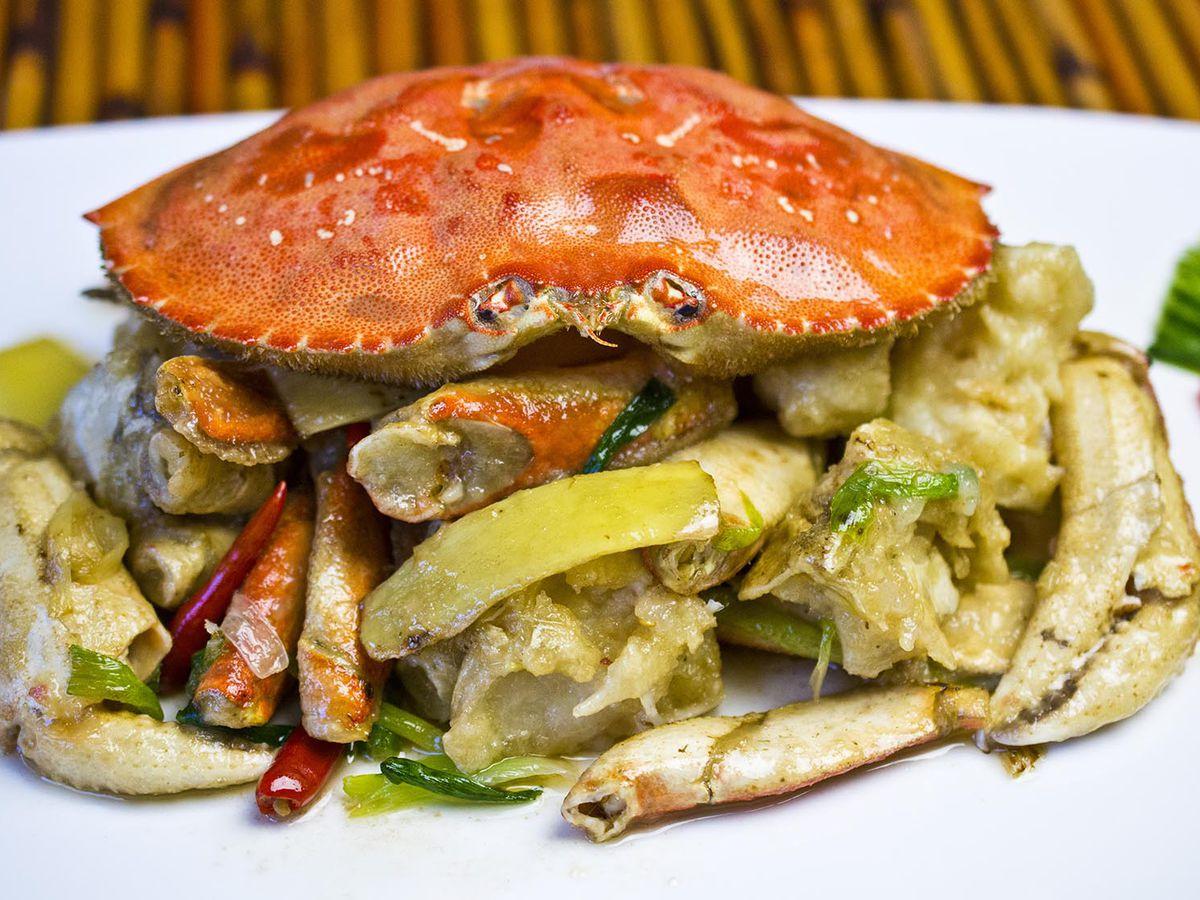 Crab at China Village