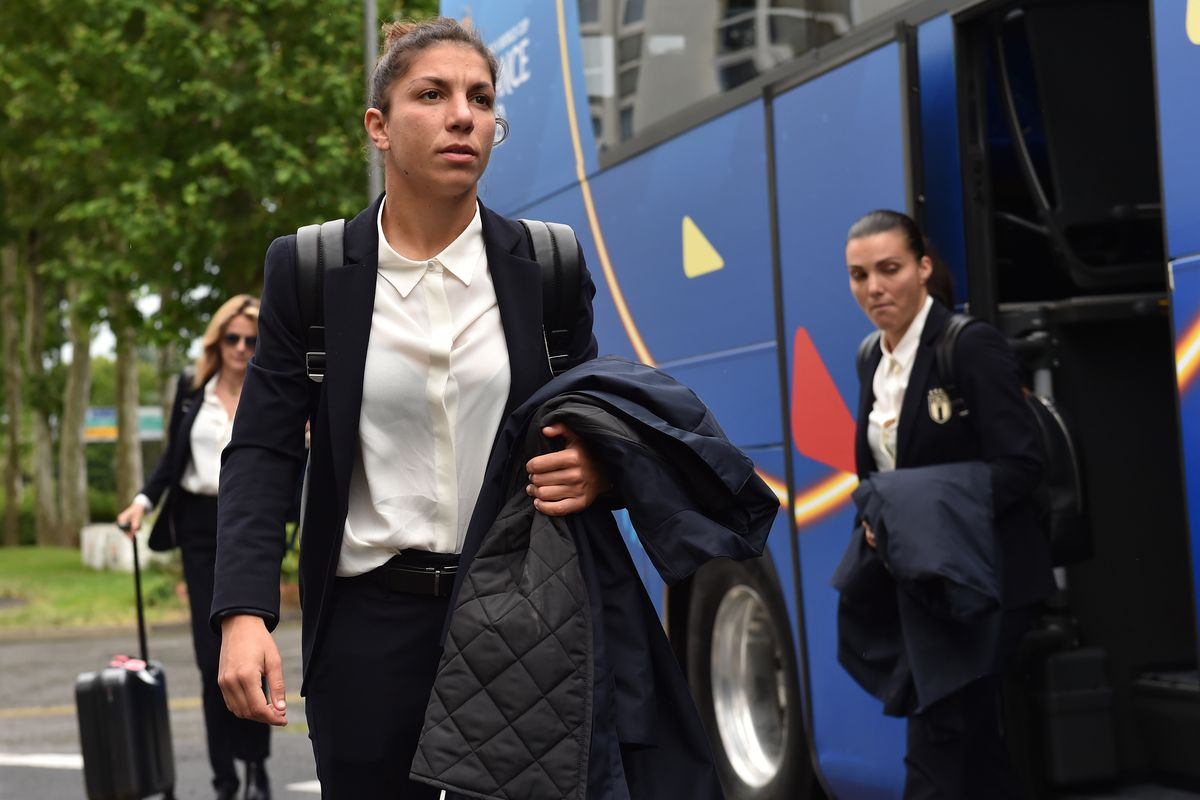 Italy Women Arrives In Reims: FIFA Women's World Cup France 2019