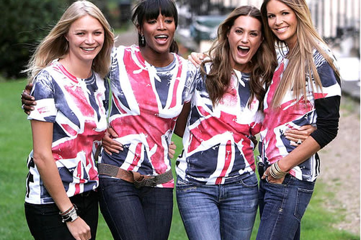 """Jodie Kidd, Naomi Campbell, Yasmin Le Bon and Elle Macpherson via <a href=""""http://fashionmagdaily.com/website/?cat=122&amp;paged=41"""">FashionMagDaily</a>"""